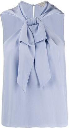 Temperley London Silk Sleeveless Halterneck Top