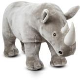 Melissa & Doug Girl's Plush Rhinoceros