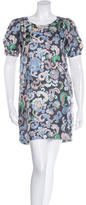 See by Chloe Abstract-Print Shift Dress