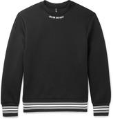 Neil Barrett - Printed Scuba-jersey Sweatshirt