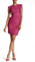 Plenty by Tracy Reese Carmen Floral Lace Sheath Dress