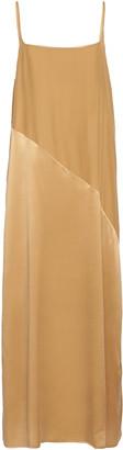 ASCENO The Lisbon Washed Silk Slip Dress