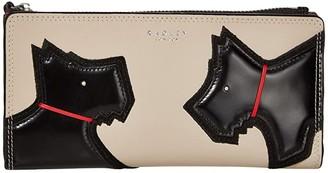 Radley London Face to Face - Large Bifold Matinee (Dove Grey) Handbags