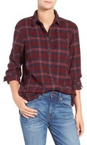 Madewell Women's Shrunken Boyfriend Shirt