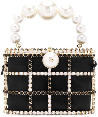 Rosantica mini Holli crystal-embellished tote bag