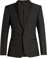 Dolce & Gabbana Shawl-lapel jacquard tuxedo jacket