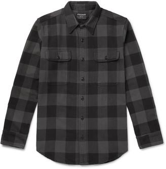 Filson Checked Cotton-Flannel Shirt