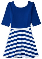 Ralph Lauren Girls' Ponte Top & Skirt Set - Big Kid
