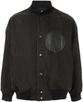 Issey Miyake Pre Owned 1980's Sports Line logo patch bomber