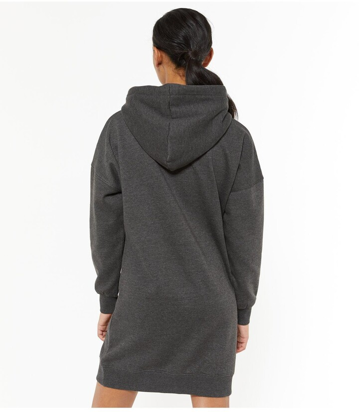 Thumbnail for your product : New Look Long Hoodie - Grey