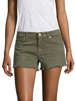 7 For All Mankind Cut-Off Frayed Hem Denim Shorts