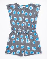 Jigsaw Girls Bubble Print Playsuit