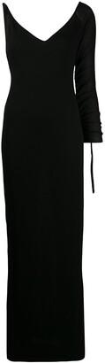 Gianfranco Ferré Pre-Owned 1990s One Shoulder Long Dress