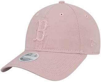 New Era Women's Pink Boston Red Sox Rouge Tonal Core Classic 9TWENTY Adjustable Hat