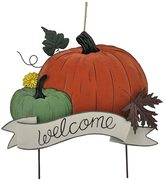"""Celebrate Fall Together """"Welcome"""" Metal Garden Stake"""