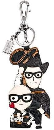 Dolce & Gabbana 2016 Cowboy Leather Keychain w/ Tags