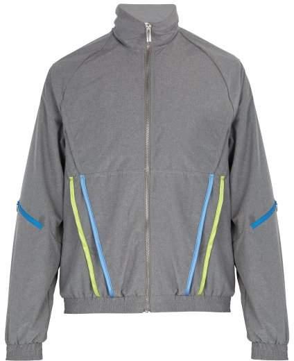 Cottweiler Signature 3.0 Satin Trim Track Jacket - Mens - Grey