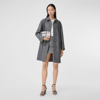 Burberry Reversible Cotton Gabardine Car Coat