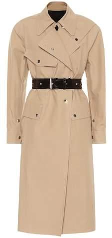 Helmut Lang Utility Mackintosh cotton coat
