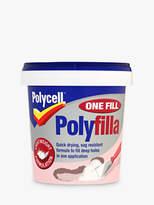 Sanderson Polycell DIY One Fill Polyfilla, 600ml