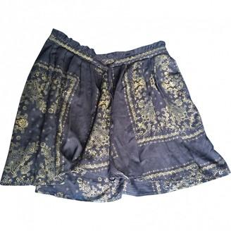 Ralph Lauren Blue Cotton Skirt for Women