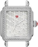 Michele 18mm Deco Diamond, Layered Diamond Watch Head