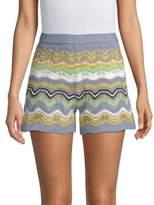 M Missoni Wave Crochet Shorts
