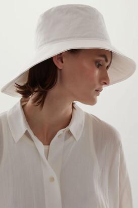 Cos Asymmetric Wide Brim Hat