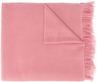 Isabel Marant Carlyn fringed cashmere scarf