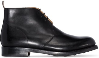 Grenson Wendell leather boots