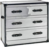Andrew Martin Howard Chest Of Drawers Steel/Brown