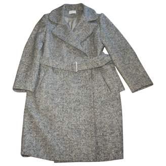 Rodier Gold Wool Coat for Women