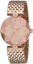 Oniss Paris Women's Quartz Stainless Steel Dress Watch, Color:Rose Gold-Toned (Model: ON8777-LRG/RG)