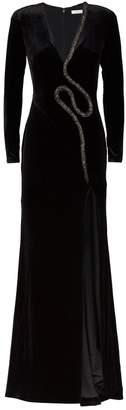 Rachel Gilbert Karolina Velvet Gown