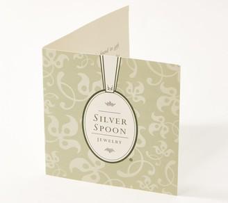 Silver Spoon Jewelry Silver Spoon Sterling Silver Vintage Spoon Linear Drop Earrings