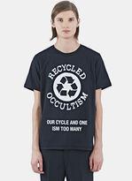 Yang Li Men's Occultism Crew Neck T-shirt In Black