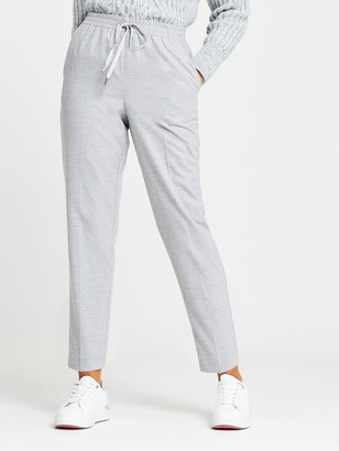 River Island Soft Touch Smart Jogger - Grey