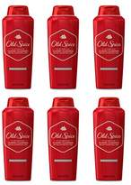 Old Spice Classic Scent Men's Body Wash 18 Fl Oz (Pack of 6)