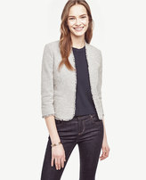 Ann Taylor Tall Marled Bolero Jacket