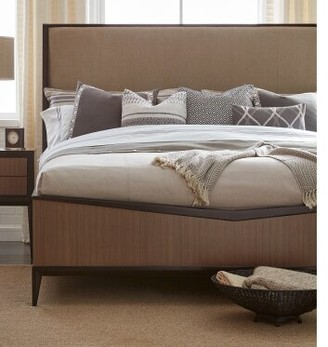 Legacy Classic Furniture Urban Rhythm Upholstered Panel Footboard Size: Queen