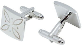 Oxford Engraved Square Cufflink Set