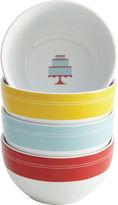JCPenney CAKE BOSS Cake BossTM Set of 4 Porcelain Ice Cream Bowls - Mini Cakes