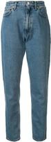 Christopher Kane crystal-embellished high-rise jeans