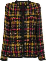 Etro - veste en tweed à motif tartan