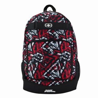 No Fear Print Skate Backpack