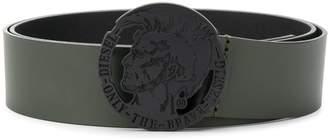 Diesel Mohawk emblem buckle belt