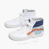 Madewell x Unfortunate Portrait Hand-Painted Vans® Unisex SK8-Hi High-Top Sneakers