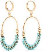 Isabel Marant Gold-plated Beaded Earrings