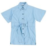 Celine Blue Cotton Top