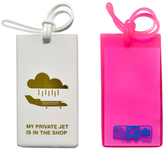 Flight 001 Private Jet Tags (Set of 2)